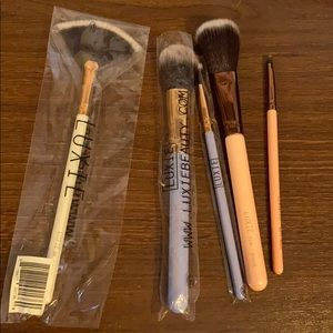 5 pcs Luxie Make-up Brushes brand new